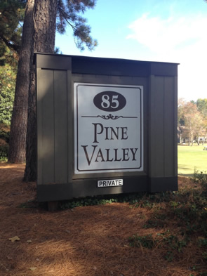 Pine Valley Pinehurst NC