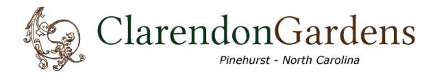 Clarendon Gardens Pinehurst NC