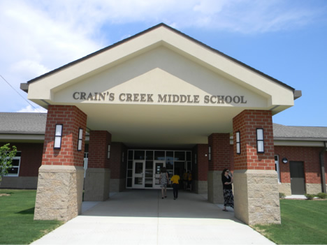 Crain's Creek Middle